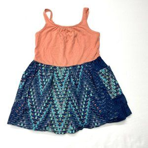 Anthem of the Ants Geometric Print Tank Dress 2T